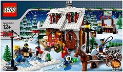 LEGO Exclusive Зимняя деревня (10216)