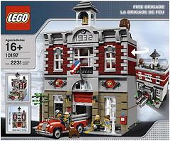 LEGO Exclusive Пожарная бригада (10197)