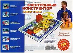 Знаток Электронный конструктор 180 схем (REWK003)