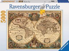 Фото Ravensburger Древняя карта Мира (174119)