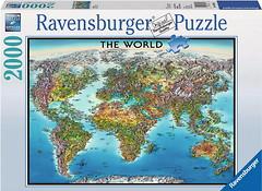 Фото Ravensburger Карта Мира (166831)