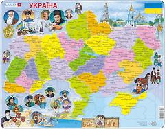 Larsen Карта Украины - история (K62)