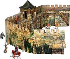 Фото Умбум Средневековый город: Крепостная стена (286)
