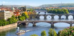 Фото Castorland Мосты через Влтаву, Прага (C-400096)