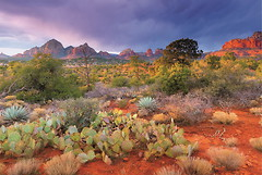 Фото Educa Закат в Ред Рокс, Аризона США (16324)