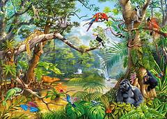 Castorland Скрытая жизнь джунглей (C-200375)