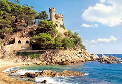 Фото Castorland Крепость Lloret de Mar, Испания (C-100774)