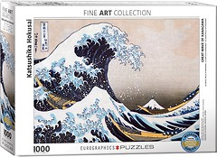 Фото Eurographic Большая волна в Канагаве Кацусики Хокусая (6000-1545)