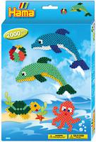 Hama mosaic Термомозаика Дельфины (3435)