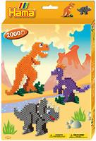 Hama mosaic Термомозаика Динозавры (3434)