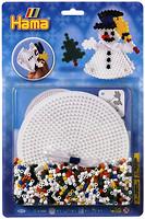 Hama mosaic Термомозаика Снеговик 3D (4096)