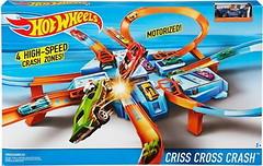 Hot Wheels Трек Авария крест накрест (DTN42)