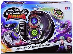 Auldey Beyblade Infinity Nado Split Air Fist и Cold Shadow (YW624603)