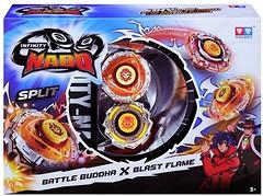 Auldey Beyblade Infinity Nado Split Battle Buddha и Blast Fla (YW624601)