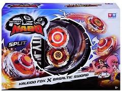 Auldey Beyblade Infinity Nado Split Kaleido Fox и Basaltic SW (YW624606)