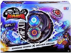 Auldey Beyblade Infinity Nado Split Shadow Shark и Delver Mec (YW624602)