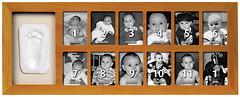 Baby Art First Year Print Frame