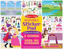 Melissa & Doug Набор многоразовых наклеек Замок принцессы (MD4306)