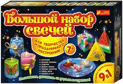 Фото Ranok-Creative Большой набор свечей 9 в 1 (9007)