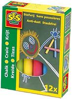 Фото Ses Набор цветных мелков Малыш 12 шт. (0201S)