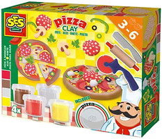 Фото Ses Незасыхающая масса для лепки Пицца (0445S)