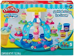 Фото Hasbro Play-Doh Набор для лепки Фабрика мороженого (B0306)