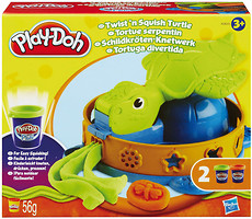 Hasbro Play-Doh Plus Забавная черепашка (A0653)