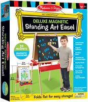 Фото Melissa & Doug Мольберт Deluxe Easel with Magnetic Board (MD9336)