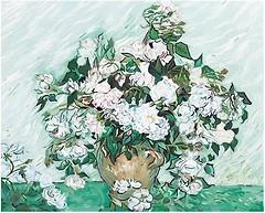 Menglei Ваза с розами (G281)