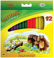 Гамма Пластилин восковой Пчелка (280032Н)