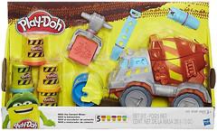 Hasbro Play Doh Задорный Цементовоз (B1858)