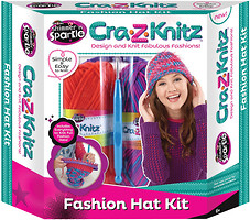 Cra-Z-Knitz Fashion Hat Kit (17119)