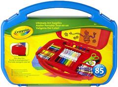 Фото Crayola Набор для творчества в удобном синем чемоданчике (04-2704-1)