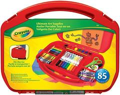 Crayola Набор для творчества в удобном красном чемоданчике (04-2704-2)