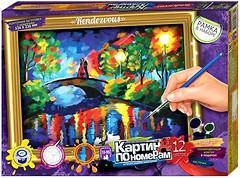 Фото Danko Toys Картина по номерам Мост через реку (KN-01-06)
