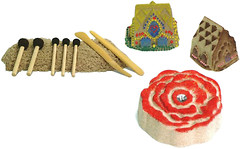 Waba Fun Sand Paint Инструменты для рисования краской (193-006)