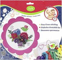 Фото D&M Цветы и птицы розовый (57899)