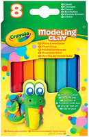 Crayola Пластилин незасыхающий 8 цветов (57-0312)