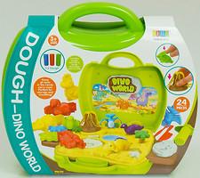 Фото Bowa Тесто для лепки Dough Dino World в чемодане (8731)