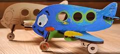 Ugears 3D модель-разрисовка Аэроплан (20002)