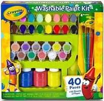 Фото Crayola Набор для творчества с красками и кисточками (54-0155)