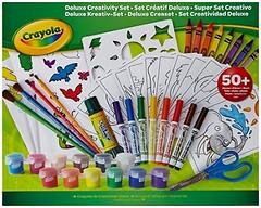 Crayola Большой набор для рисования с красками и фломастерами (04-0297)