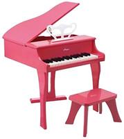 Фото Hape Розовое фортепиано со стульчиком (E0319)