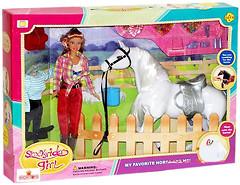 Defa Lucy Кукла с лошадью (8038)