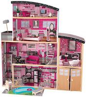 Фото KidKraft Домик Sparkle Mansion Dollhouse для кукол (65826)