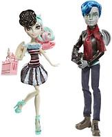 Monster High Набор кукол Гарротт дю Рок и Рошель Гойл серия Скариж город страха (CGH17)
