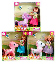 Defa Lucy Кукла с лошадью (8303)