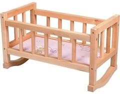 Фото ТМ Дерево Кроватка для кукол Винни Пух (ВП-002)
