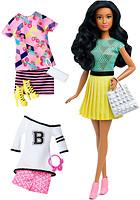 Mattel Барби Модница с набором одежды (DTD96)