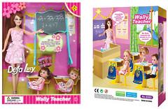 Defa Lucy Кукла Учительница (6065)
